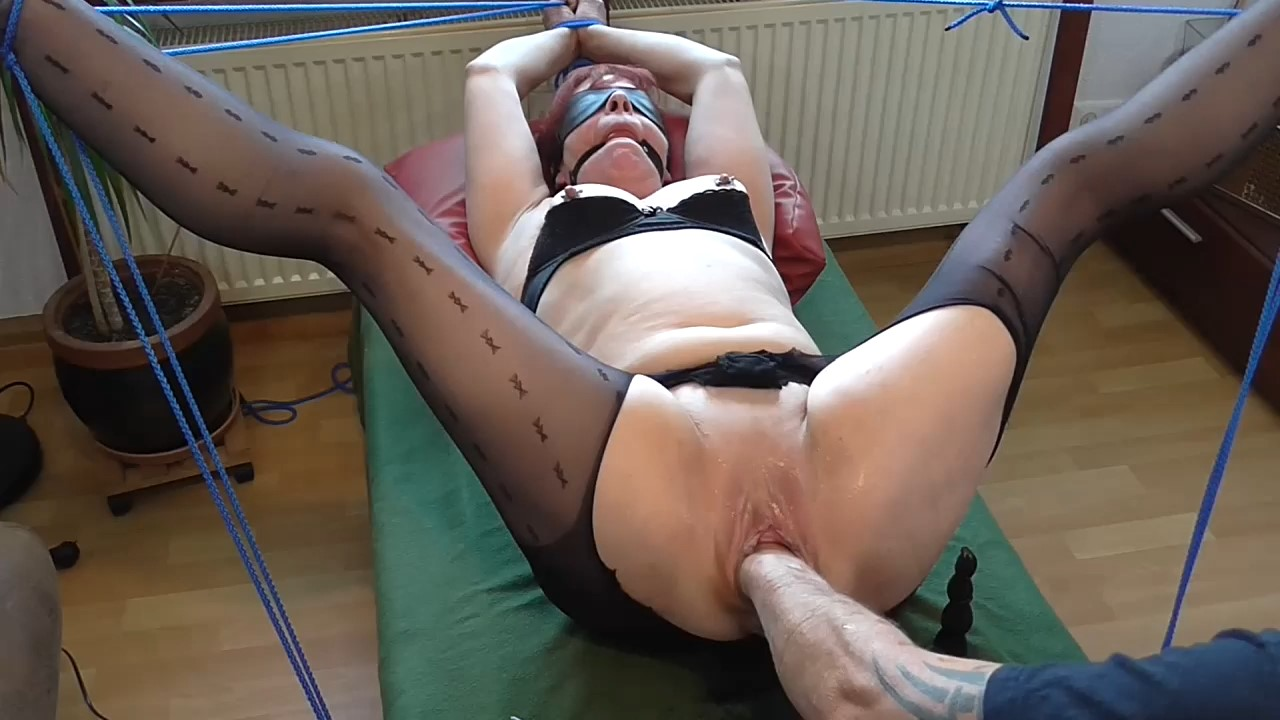 Bound Multi Squirt Orgasm